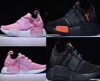 Newest hot- sell Bb pink NMD R1 W BOOST Running Sneakers Fash...