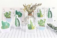 30 pages pack Fresh Cactus Love Memo Pad Sticky Notes Memo N...