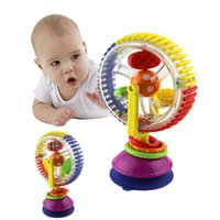 baby rattle toys tricolor multitouch rotating ferris wheel suckers toy 036 months newborns creative educational baby toys