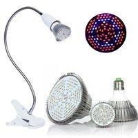 Full Spectrum LED coltiva le lampadine 18W 30W 50W 80W LED Coltiva le luci Sistemi idroponici interni Lampada per la fioritura e la crescita