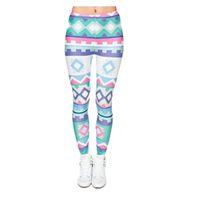 Pantaloni 3D da donna New Graphic Stampa intera Girl Skinny Stretchy Capris Vestibilità aderente Elastico Slim Sprots Fitness Pantaloni a matita DDK5 JRFF