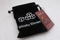 100% Natural 6 COLORES Whisky piedras 1350 unids / lote 9 unids / bolsa Whisky Piedra Vino Rocas Piedras de Hielo Bar Navidad San Valentín Padre Regalo