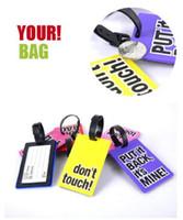 Nuovo arriva Viaggi Etichetta bagaglio bagaglio etichetta portatile Valigia Viaggi Valigia ID bagagli Grande Tag 300pcs Accessori Viaggio Borsa Ciondolo