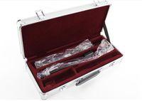 SUZUKI 17 fori aperti C chiave Silveing Flauto Inoltre il tasto E metallo Flauta Coda del tubo colonna Tipo strumenti musicali Flauto con il caso