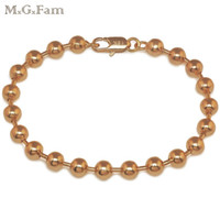 (252B) MGFam (20cm x 6mm) NEW ARRIVAL Smooth Beads Bracelet ...