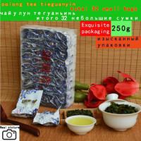 2020 années Top qualité du thé chinois Oolong, pack vide total 32 petits sacs thé de Tieguanyin les produits de soins de santé naturels organiques