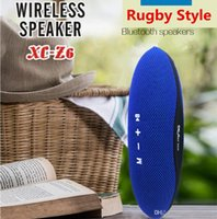 Z6 Rugby Style Wireless Bluetooth Speakers Outdoor Mini Port...