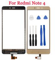 Redmi Note 4 Reemplazo de la pantalla de vidrio exterior para Xiaomi Redmi Note4 panel de vidrio de pantalla táctil Redmi Note4 con herramientas