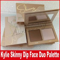 Kylie Jenner Cosmetics Skinny Dip Face Duo Highlighters Skinny Dip Highlighters 2color Face Powder Bronzer Highlighters Порошковая палитра