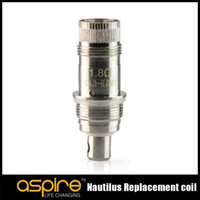 100% Originale Aspire Nautilus BVC Atomizzatore Testa di fondo verticale bobina di lavoro su nautilus / Mini nautilus 2 serbatoi enorme vapore