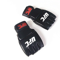 MMA Half Finger Boxing Gloves Fighting Boxing Glove for Men ...