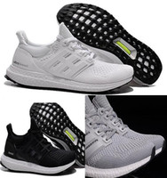 2017 Women and men Ultra Boost Gray shoes fashion white Ultr...