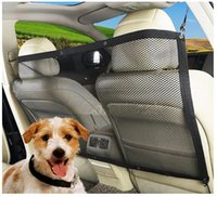 Car Safety Net Barrier Pet Dog Seat Back Cargo Area Vehicle ...