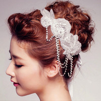 Perfect Handmade Bridal Headpieces Rhinestone Faux Pearl Cro...
