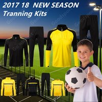 2018 KID Youth Tranning KITS outfits Tracksuits Dort Jacket ...