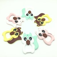 2017 Lot of 10 pcs Squirrel Teething Pendant Teether Necklac...