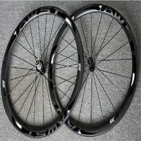 WAST noir 38mm roues de vélo de route en carbone complet pneu pneu 700C chinois route roues de carbone 38mm largeur roues en surface basalte hubs d'alimentation