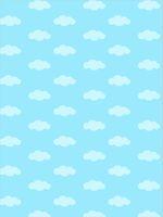 Blue Sky White Clouds Pattern Fotografia Fondali Baby Neonato Photo Puntelli Bambini Bambini Cartoon Sfondi fotografici per Studio