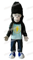 funny Movie Sing Character Gorilla Jimmy mascot costume adul...