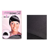 5pcs lot Black Spandex Dome Cap For Making Wig Snood Nylon S...