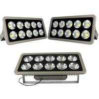 Süper Parlak 100 W 200 W 300 W 400 W 500 W Led Projektörler Su Geçirmez Açık Led Sel Işıkları Duvar Paketi Lambası AC 85-265 V + Garanti 3 Yıl