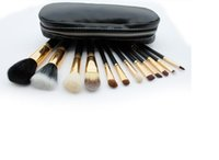 HOT Makeup Brushes 12 pezzi Set di pennelli per trucco professionale oro