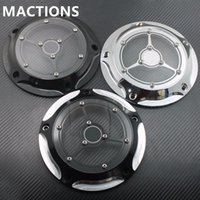 Copri Timer Timing Cover per Harley Road King Softail Dyna FLHRS FLTFB Moto CNC in alluminio