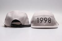 Satış Spor Takım Ayarlanabilir Snap Back Şapkalar beyzbol kapaklar üzerinde Erkekler Hat Ucuz Snapback için Toptan Elmas Snapback şapka 5 Panel kapakları