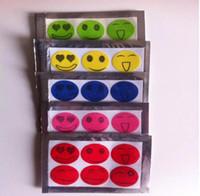 Природные антимоскитные репелленты для репеллентов для насекомых-патчей Smiley Smile Face Patches Baby Adult Mosquito Repellent наклейки L005