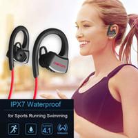 DACOM P10 무선 스포츠 헤드셋 IPX7 방수 Bluetooth 스테레오 이어폰 (마이크 / 수영 / 음악 / 핸즈프리 통화 용)