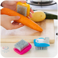 Mini Fruit And Vegetable Washing Brush Cleaning Brush Potato...