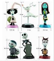 Nightmare Before Christmas Jack e Zero Figure Lovely Gift For Car Decoration