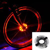 بالجملة، Leadbike 2016 جديد للدراجات دراجات دراجة محاور ضوء أمامي / تكلم الذيل ضوء بقيادة عجلة تحذير الخفيفة للماء دراجة ملحقاتها