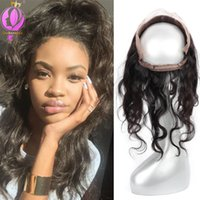 360 Lace Frontal Brazilian Human Hair Closure Brazilian Body...