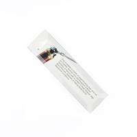 Authentische Reinigungswerkzeug für RDA RDTA RBA Spulen Drähte Zerstäuber Gebürstetem Edelstahl Mini Wachs Clean Tool Pinsel DIY Stift Vape Teil DHL