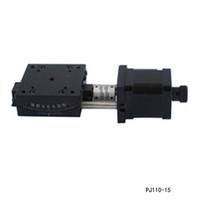 Motorisé goniomètre Stade PDV électrique goniomètre Plate-forme Plage de rotation: +/- 15 degrés PJ110-15 de qualité solide, un service dédié