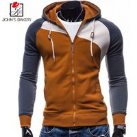 Wholesale- John' s Bakery 2017 Hoodies Men Sudaderas Hom...