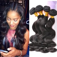 Queen Hair Products Brazillian Body Wave Visón armadura de cabello virginal Grado 8A Pelo brasileño brasileño Húmedo y ondulado Brazilian Bundles Mix Length