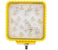 48W 4inch LED Arbeitslicht Wasserdichtes 3300Lm Offroad Boot LKW Traktor LED Licht Fahrlicht Flutlichtstrahler Scheinwerfer Autoscheinwerfer