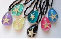 FREE SHIPPING yqtdmy 12 قطعة مجوهرات خمر قلادة نجم البحر اليدوية