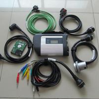 Multiplexer MB STAR C4 di alta qualità MB STAR C4 Connect Compact 4 con 2021.03 Multi-Languages Soft-ware per l'auto e la diagnosi di camion Scanner