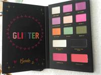 Nuevo maquillaje caliente Faddist Glitter Bomb 2 PRISMATIC Paleta de sombra de ojos 13 colores de sombra de ojos DHL DHL Envío + Regalo