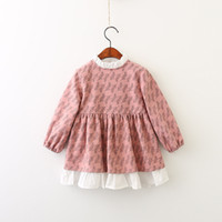 Everweekend Girls Floral Printed Ruffles Autumn Dress Candy ...