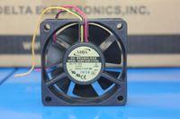 원래 정품 ADDA AD0612XB-C72GL 12V 0.31A 60 * 60 * 20 3 와이어 더블 볼 냉각 팬
