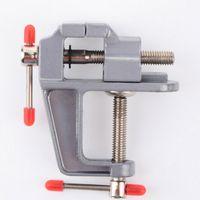 Mini Aluminum Bench Table Swivel Lock Clamp Vice Craft Jewel...