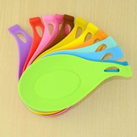 Wholesale- Silicone Spoon Insulation Mat Silicone Heat Resis...
