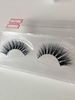 2Pairs Cheap Silk Lashes 3D Fake False Eyelashes High Qualit...
