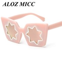 ALOZ MICC Women Sunglasses Unique Style Vintage Cat Eye Sun ...