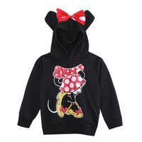 Wholesale- New Fashion Cute Kids Girls Boys Minnie Mouse 201...