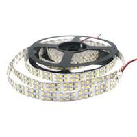 Edison2011 5m dubbel rad 3528 1200 SMD LED-remsa 12V Flexibel 240 LED / M LED TAPE Vit / varm vit